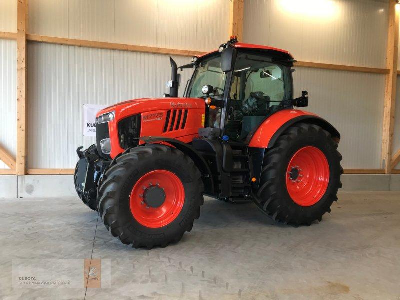 Traktor of the type Kubota M 7173 KVT Premium DL FZW FKH LED 60 Mon. 0,0%, Neumaschine in Biessenhofen (Picture 3)