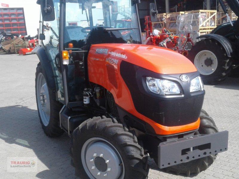 Traktor des Typs Kubota M5091 Spargel, Neumaschine in Mainburg/Wambach (Bild 2)