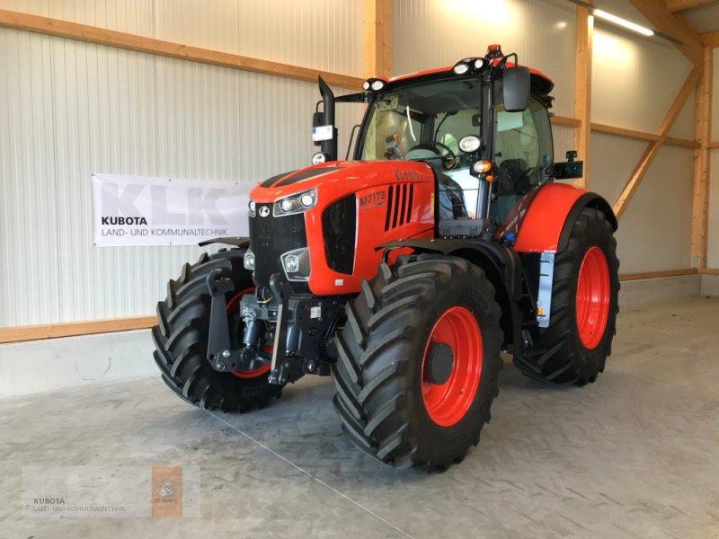 Traktor des Typs Kubota M7173 KVT Stufenlos DL FZW FKH 50Km/h, Neumaschine in Biessenhofen (Bild 1)