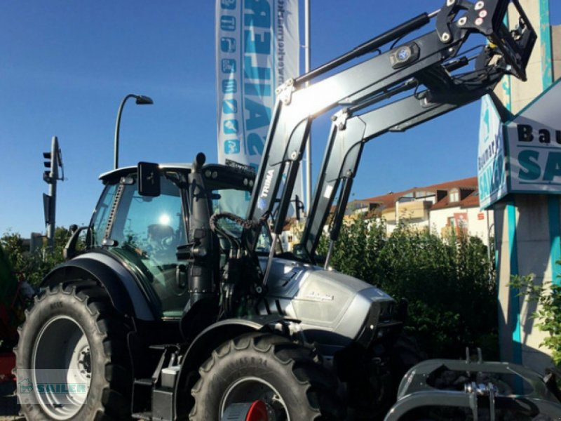 Traktor des Typs Lamborghini R6.130.4 Power Shift Traktor *NEUWERTIG* *VOLL*, Gebrauchtmaschine in Landsberg (Bild 1)