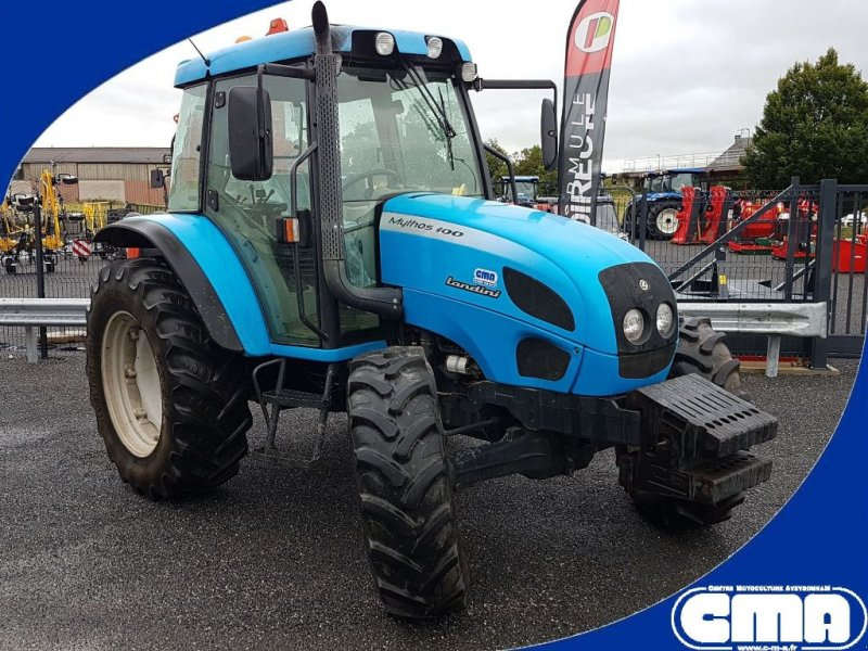 Traktor типа Landini MYTHOS 100, Gebrauchtmaschine в RODEZ (Фотография 1)