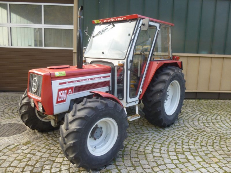 Traktor des Typs Lindner 1500 A, Gebrauchtmaschine in Ebensee (Bild 1)