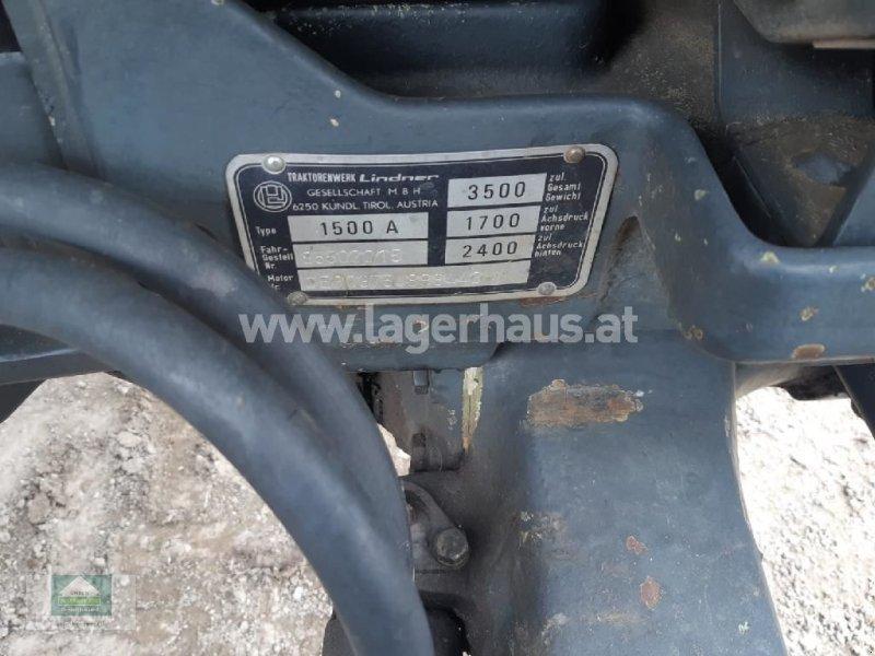 Traktor des Typs Lindner 1500, Gebrauchtmaschine in Klagenfurt (Bild 7)