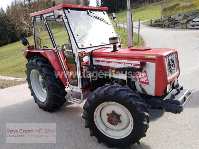 Traktor des Typs Lindner 1600 A, Gebrauchtmaschine in Purgstall (Bild 1)