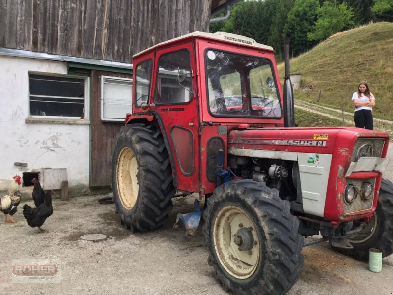 Traktor des Typs Lindner BF450 SN, Gebrauchtmaschine in Wieselburg Land (Bild 1)