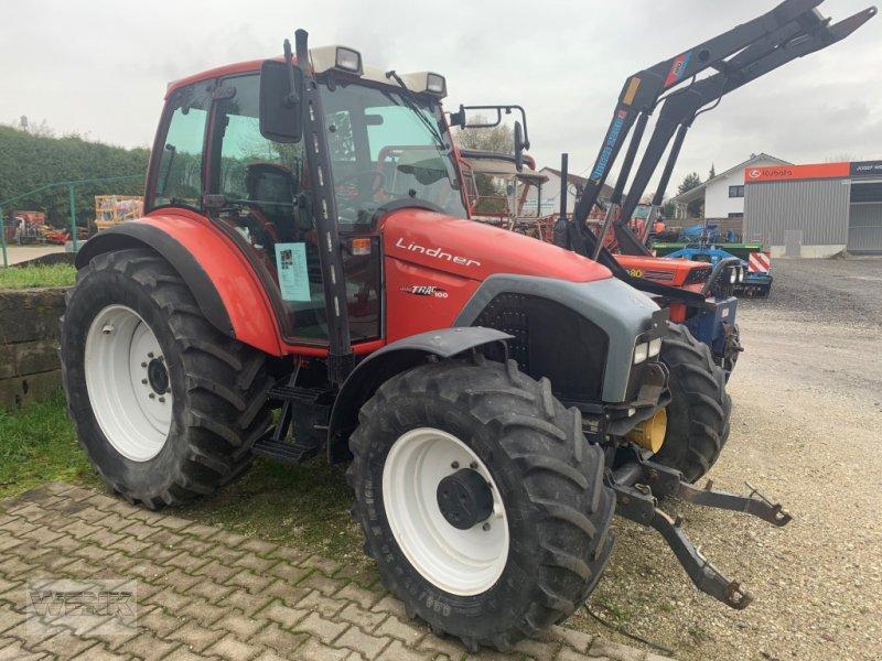 Traktor des Typs Lindner Geotrac 100, Gebrauchtmaschine in Reisbach (Bild 1)