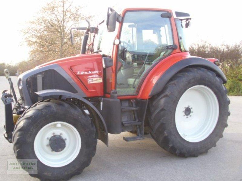 Traktor des Typs Lindner Geotrac 124, Gebrauchtmaschine in Unterneukirchen (Bild 1)