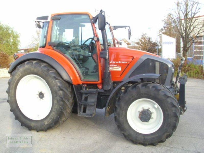 Traktor des Typs Lindner Geotrac 124, Gebrauchtmaschine in Unterneukirchen (Bild 3)