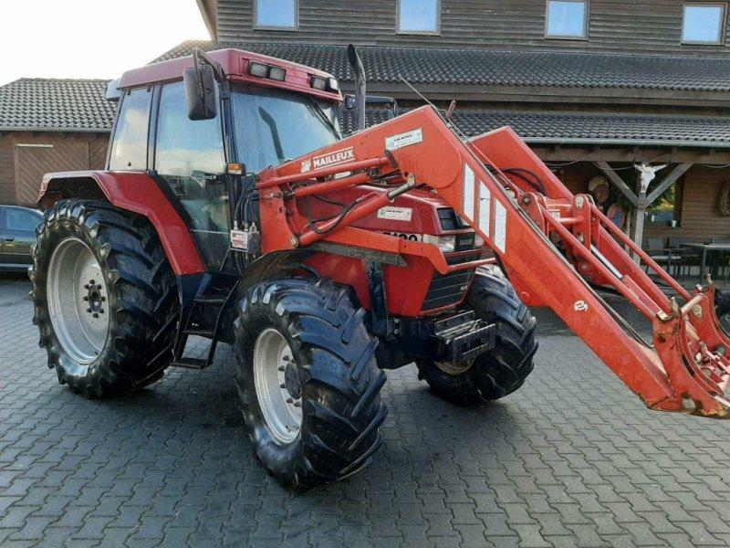 Traktor typu Mailleux Case Maxxum 5120 Plus mit Mailleux Frontlader, Gebrauchtmaschine v Gillenfeld (Obrázok 1)