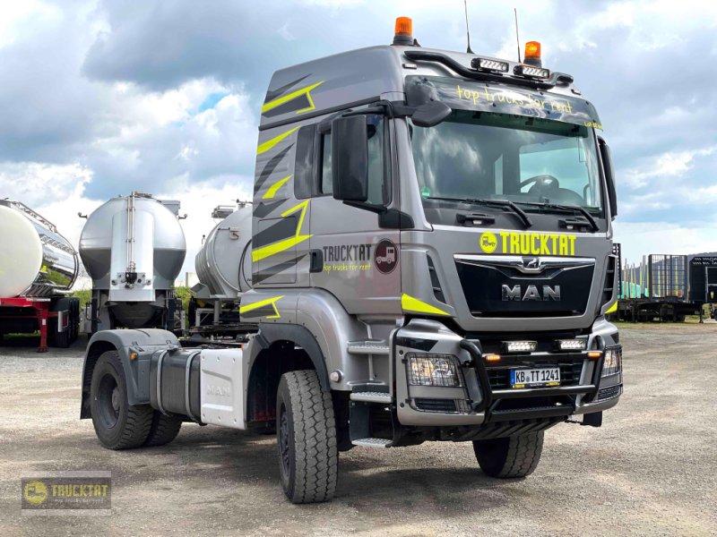 Traktor типа MAN LoF 60 km/h TGS 18.460 BLS 4X4 Voll-Allrad, MIETEN?, Gebrauchtmaschine в Lichtenfels (Фотография 1)