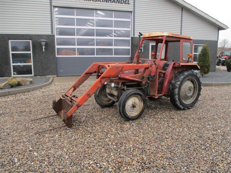 Traktor типа Massey Ferguson 135 med læsser, Gebrauchtmaschine в Lintrup (Фотография 8)