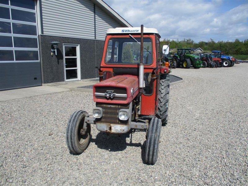 Traktor des Typs Massey Ferguson 135 med lukket kabine, Gebrauchtmaschine in Lintrup (Bild 7)