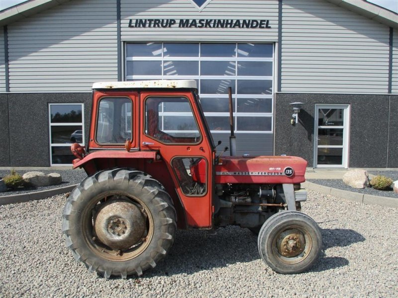 Traktor типа Massey Ferguson 135 med lukket kabine, Gebrauchtmaschine в Lintrup (Фотография 6)