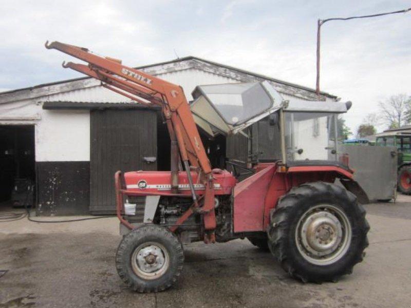 Traktor типа Massey Ferguson 158, Gebrauchtmaschine в Ziegenhagen (Фотография 1)