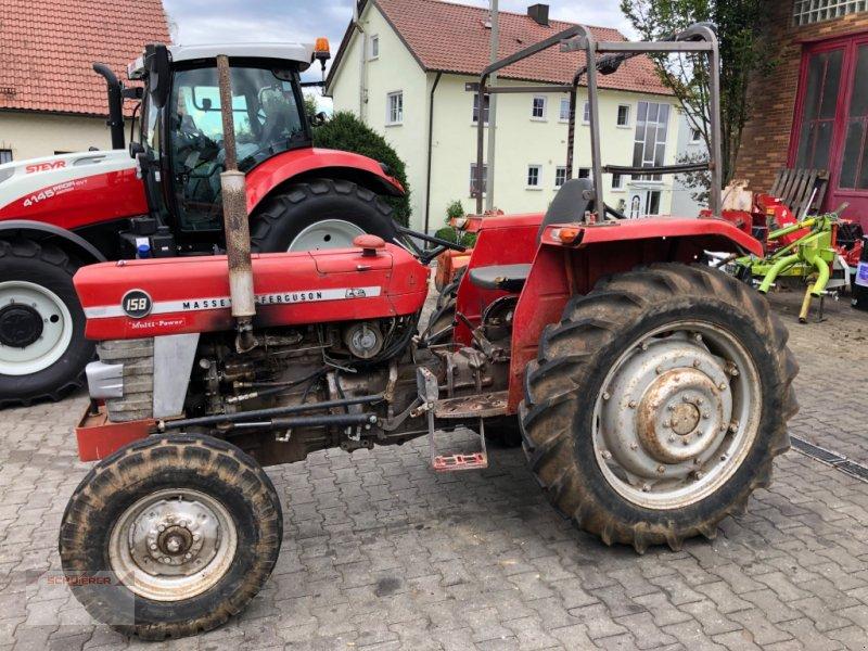 Traktor des Typs Massey Ferguson 158, Gebrauchtmaschine in Schwandorf (Bild 1)