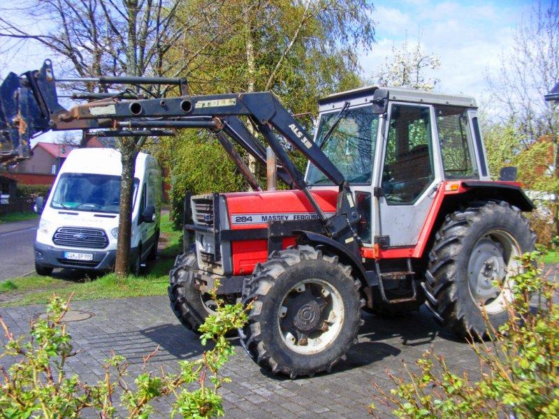 Traktor типа Massey Ferguson 284 Frontlader+Kabine, Gebrauchtmaschine в Kutenholz (Фотография 1)