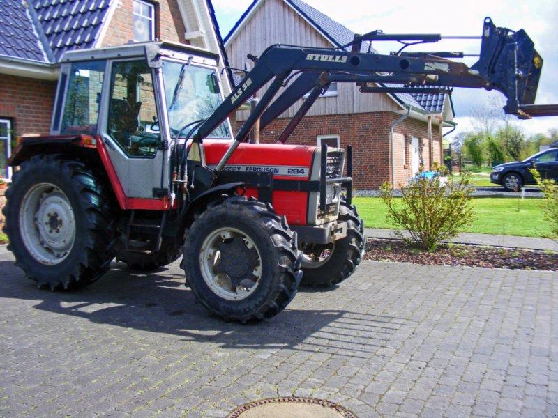 Traktor типа Massey Ferguson 284+ Frontlader, Neumaschine в Kutenholz (Фотография 1)