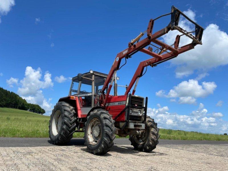 Traktor des Typs Massey Ferguson 294S mit Frontlader, Gebrauchtmaschine in Steinau  (Bild 1)