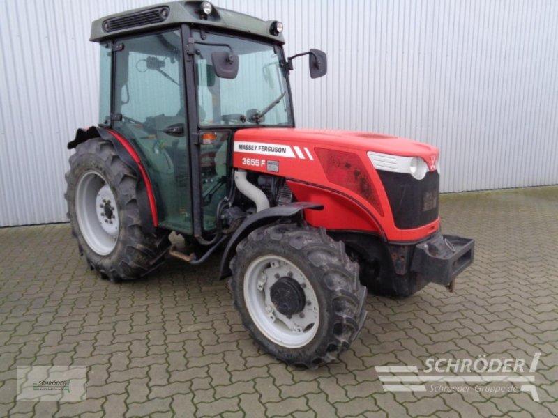 Traktor des Typs Massey Ferguson 3655 F, Gebrauchtmaschine in Ahlerstedt (Bild 1)