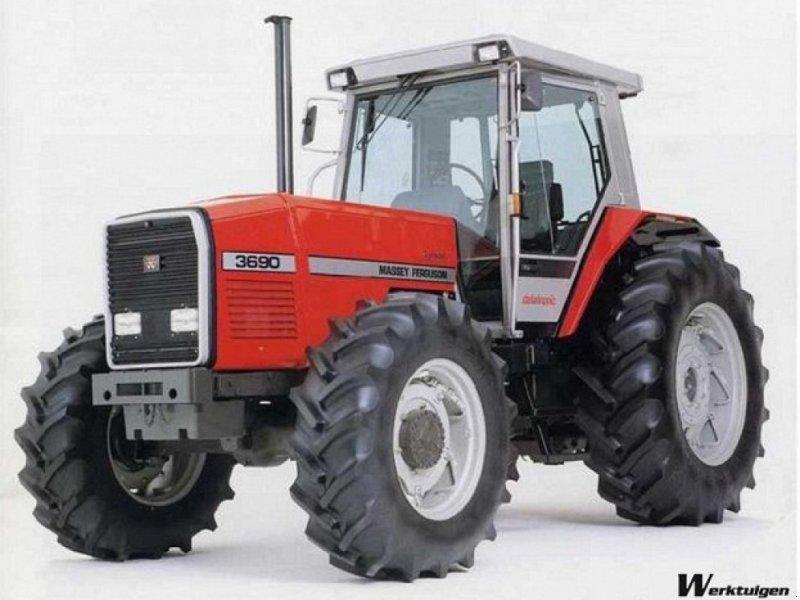 Traktor des Typs Massey Ferguson 3690 KØBES, Gebrauchtmaschine in Mariager (Bild 1)