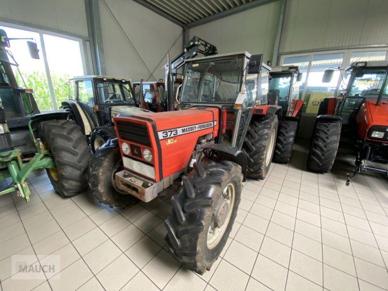 Traktor des Typs Massey Ferguson 373-4, Gebrauchtmaschine in Burgkirchen (Bild 1)