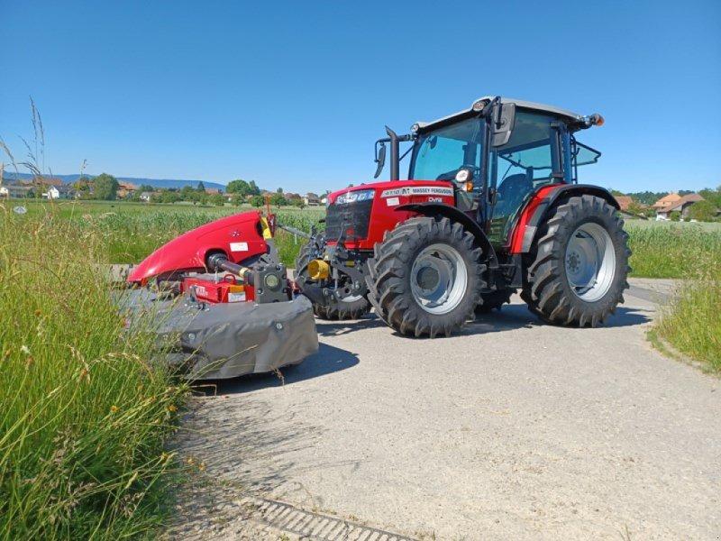 Traktor типа Massey Ferguson 4710 M, Ausstellungsmaschine в Hindelbank (Фотография 1)