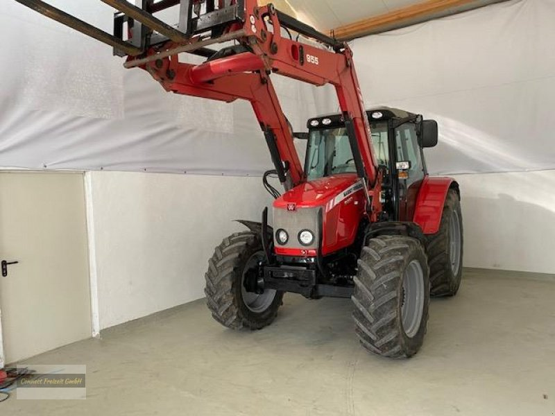 Traktor типа Massey Ferguson 5460 Dyna 4 Druckluft Frontlader Motor 50 Betriebst., Gebrauchtmaschine в Hausen (Фотография 1)