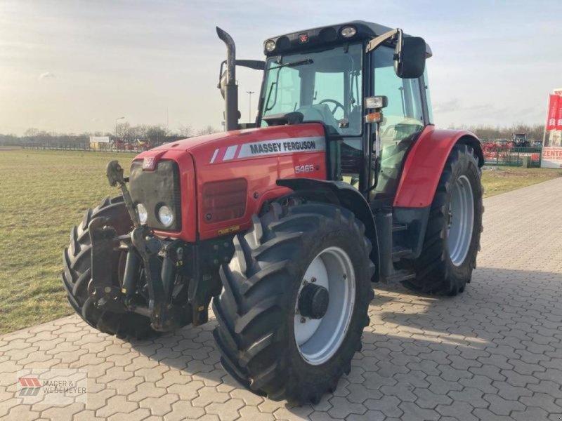Traktor des Typs Massey Ferguson 5465, Gebrauchtmaschine in Oyten (Bild 1)