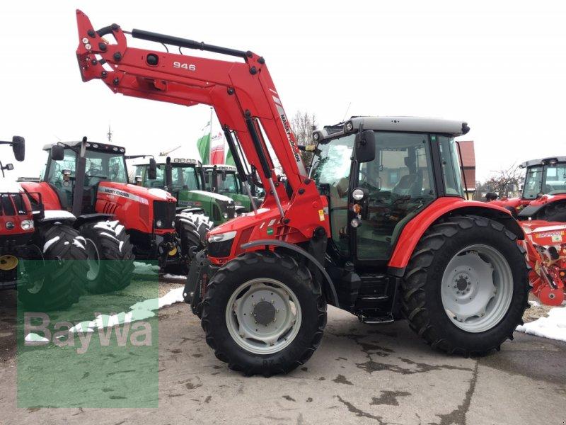 Traktor des Typs Massey Ferguson 5609 Dyna4 Essential mit MF Frontlader >> sehr gepflegt<<, Gebrauchtmaschine in Dinkelsbühl (Bild 1)