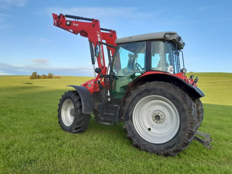 Traktor des Typs Massey Ferguson 5610 Dyna 4, Gebrauchtmaschine in Legau (Bild 5)