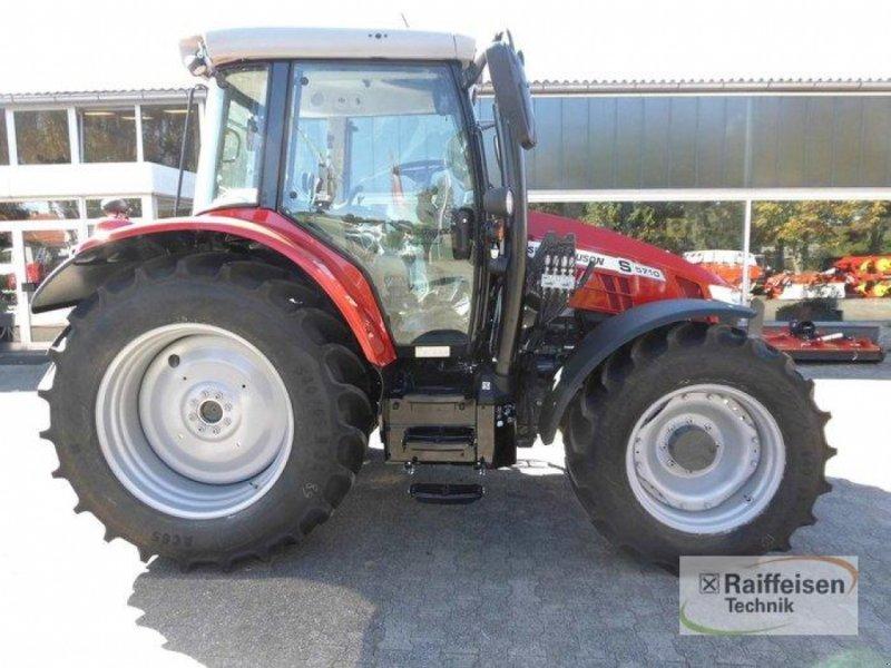 Traktor des Typs Massey Ferguson 5710S Dyna-4 E, Gebrauchtmaschine in Trendelburg (Bild 4)