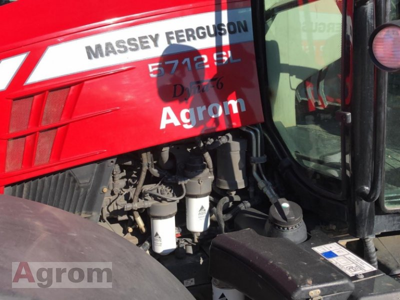 Traktor a típus Massey Ferguson 5712 SL Dyna-6 Efficient, Gebrauchtmaschine ekkor: Weinsheim (Kép 5)