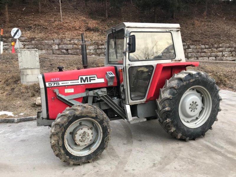 Traktor des Typs Massey Ferguson 575 Allrad, Gebrauchtmaschine in Burgkirchen (Bild 6)