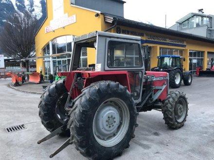 Traktor des Typs Massey Ferguson 575 Allrad, Gebrauchtmaschine in Burgkirchen (Bild 4)
