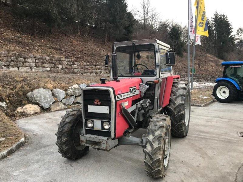 Traktor des Typs Massey Ferguson 575 Allrad, Gebrauchtmaschine in Burgkirchen (Bild 5)