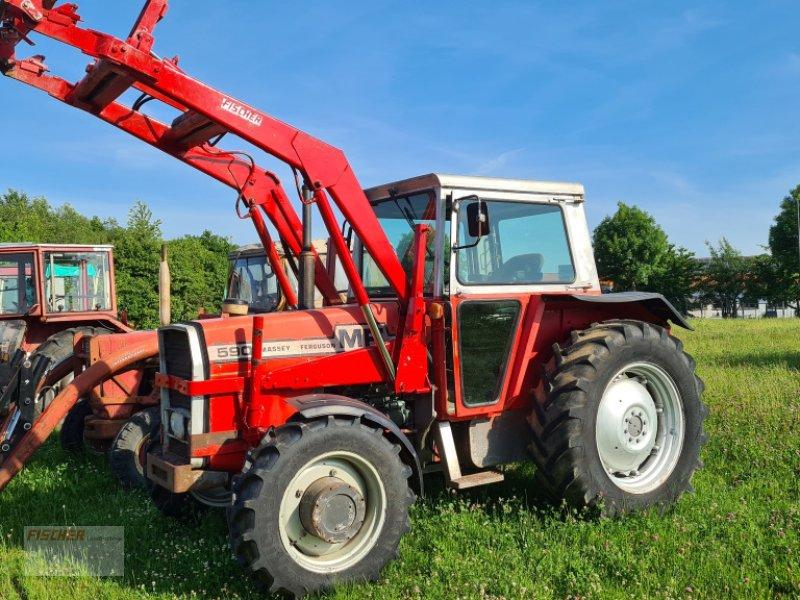 Traktor des Typs Massey Ferguson 590 A, Gebrauchtmaschine in Pfoerring (Bild 1)