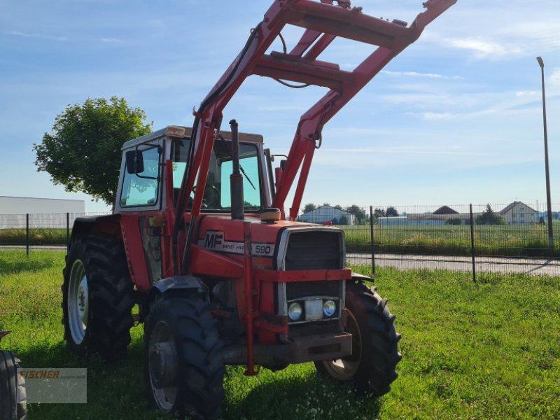 Traktor des Typs Massey Ferguson 590 A, Gebrauchtmaschine in Pfoerring (Bild 2)