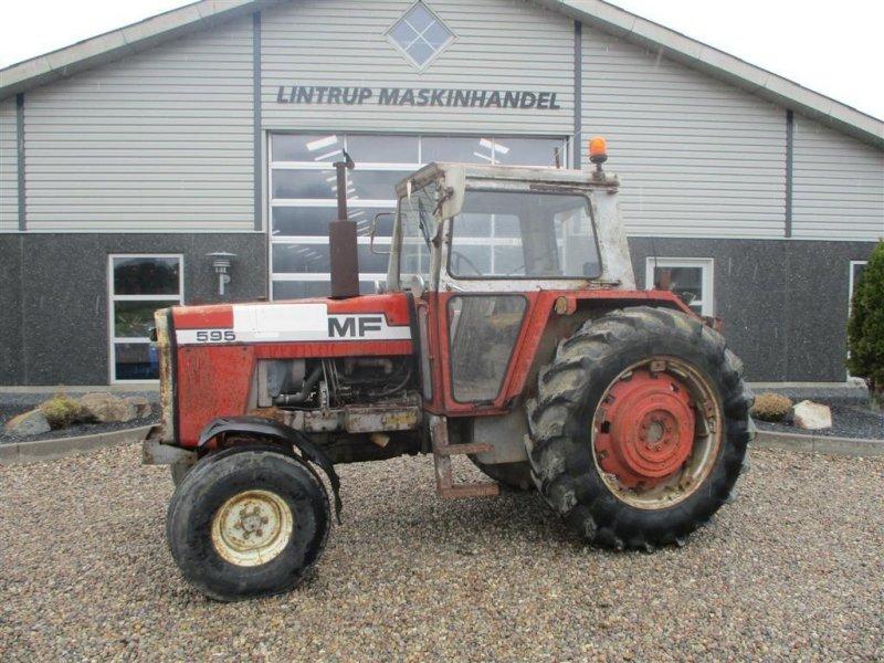 Traktor типа Massey Ferguson 595 Multi power, Gebrauchtmaschine в Lintrup (Фотография 1)