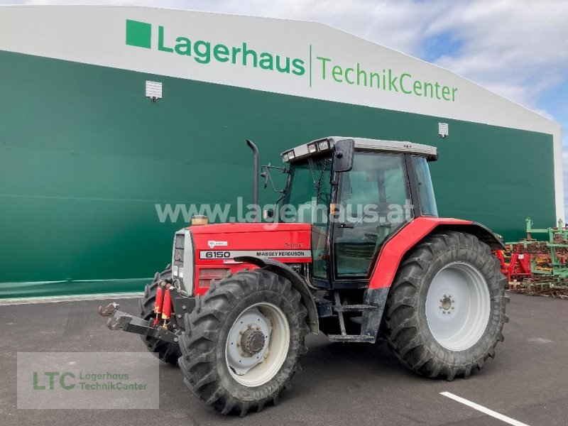 Traktor des Typs Massey Ferguson 6150, Gebrauchtmaschine in Eggendorf (Bild 1)