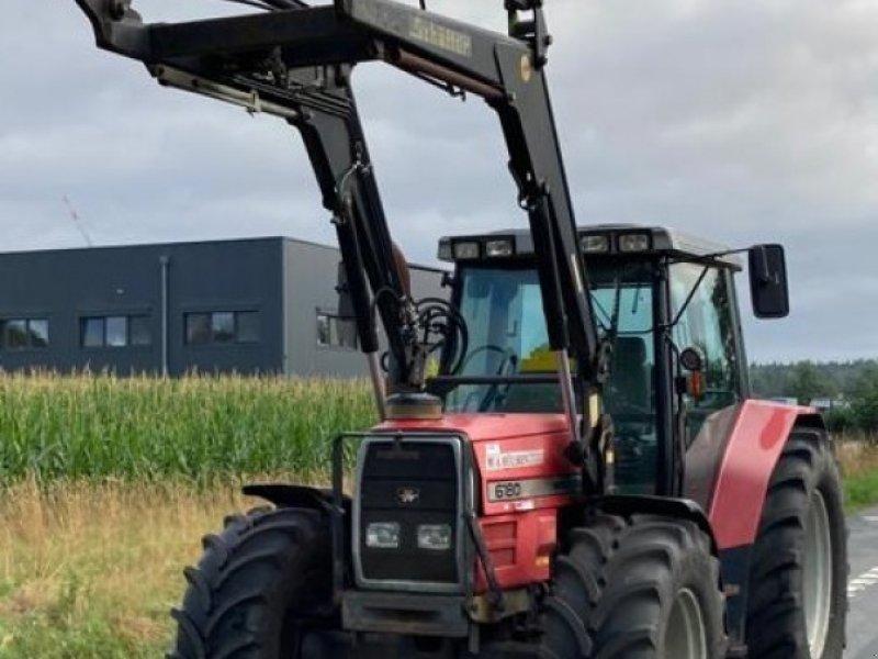 Traktor des Typs Massey Ferguson 6180 A, Gebrauchtmaschine in Hörstel (Bild 1)