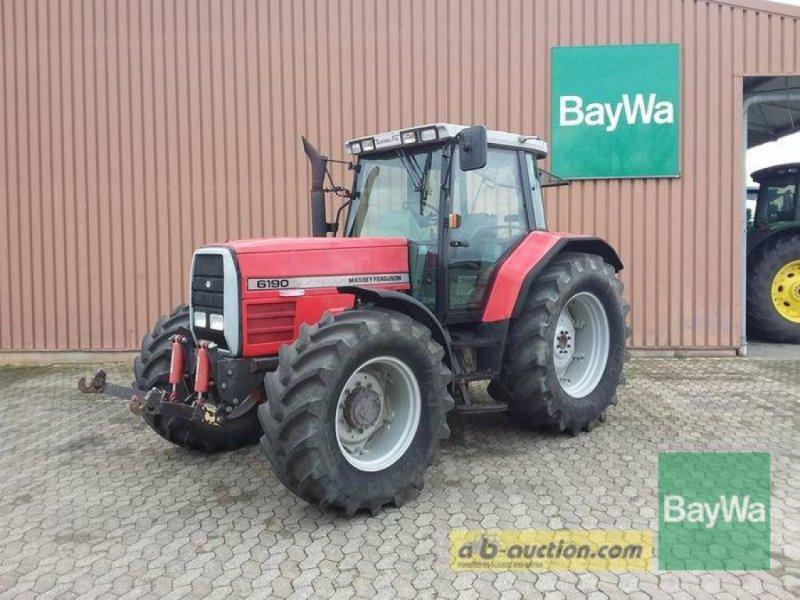 Traktor des Typs Massey Ferguson 6190 A, Gebrauchtmaschine in Manching (Bild 1)