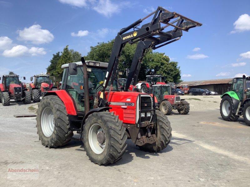 Traktor des Typs Massey Ferguson 6190, Gebrauchtmaschine in Blaufelden (Bild 1)