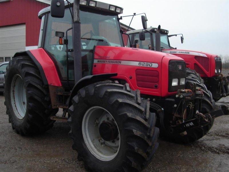Traktor типа Massey Ferguson 6290 affjedret foraksel, Gebrauchtmaschine в Ejstrupholm (Фотография 1)