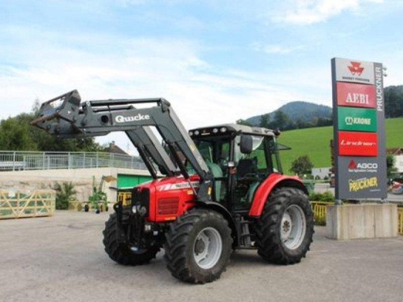 Traktor des Typs Massey Ferguson 6445-4 dynashift plus, Gebrauchtmaschine in RANDEGG (Bild 1)