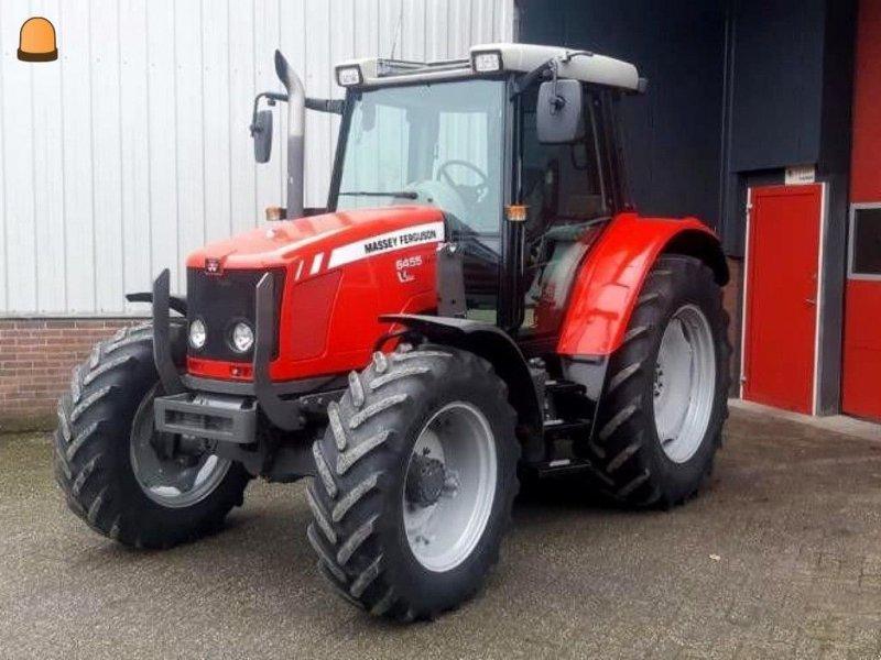 Traktor типа Massey Ferguson 6455, Gebrauchtmaschine в Zoetermeer (Фотография 1)