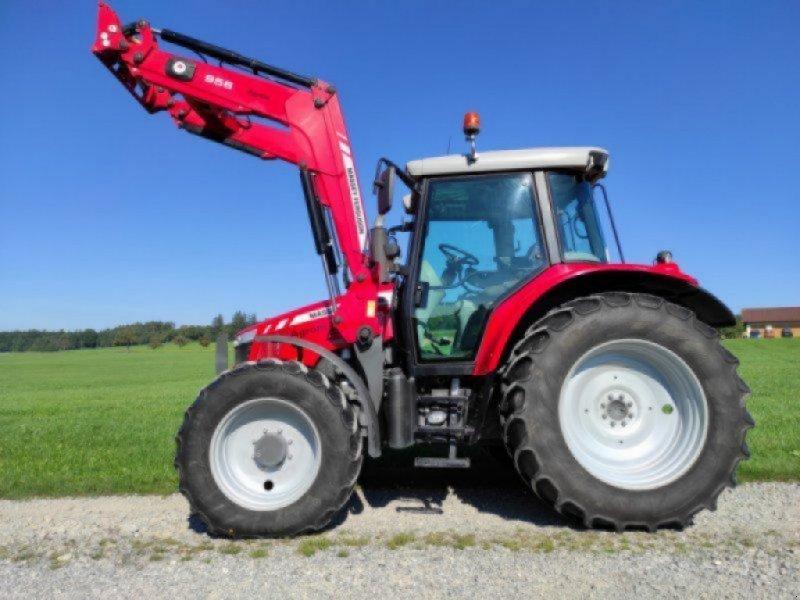 Traktor des Typs Massey Ferguson 6455, Gebrauchtmaschine in Bad Saulgau (Bild 1)