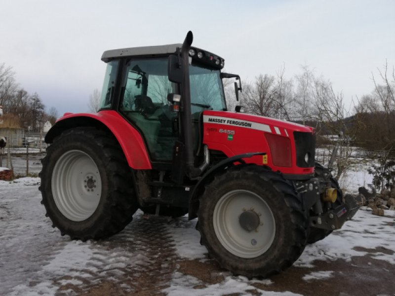 Traktor des Typs Massey Ferguson 6455, Gebrauchtmaschine in Ansbach (Bild 1)