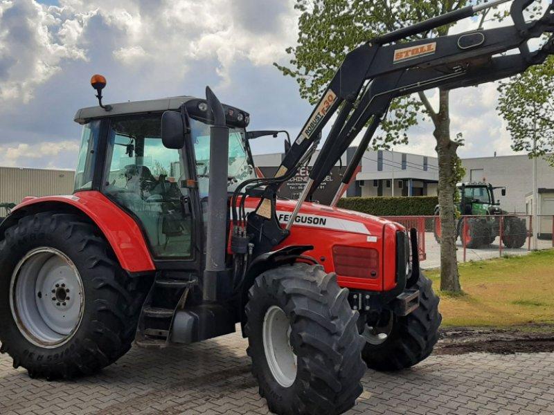 Traktor del tipo Massey Ferguson 6465 Dyna-6 met Stoll voorlader, Gebrauchtmaschine en Schoonebeek (Imagen 1)