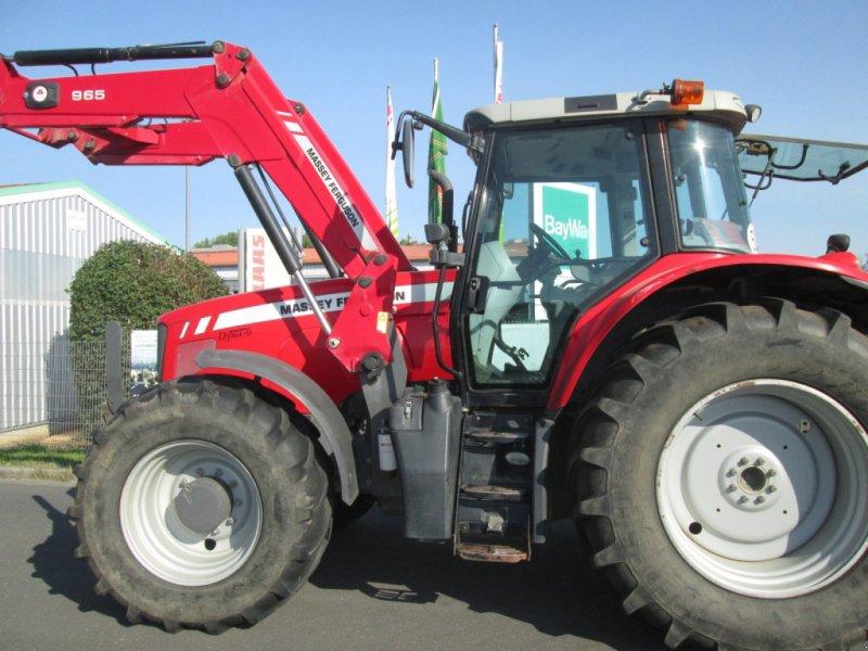 Traktor des Typs Massey Ferguson 6480 Dyna 6 mit Alö Q65 Frontlader, Gebrauchtmaschine in Wülfershausen an der Saale (Bild 2)
