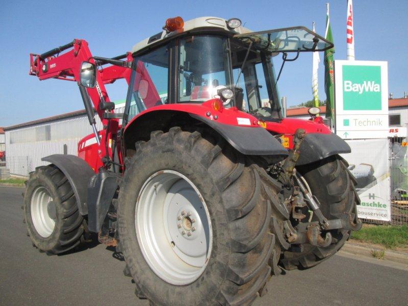 Traktor des Typs Massey Ferguson 6480 Dyna 6 mit Alö Q65 Frontlader, Gebrauchtmaschine in Wülfershausen an der Saale (Bild 3)